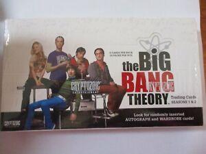 THE BIG BANG THEORY SEASONS 1&2 FACTORY SEALED TRADING CARD BOX-VERY RARE