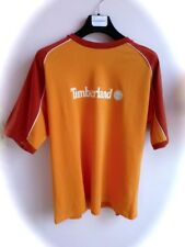 TIMBERLAND ★ Org. Kurzarm Short Sleeve Herren T-Shirt Print Logo orange L NEUw.