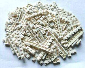 LEGO® Basic 160 Stück Bauplatten 1/3 in weiß 1x2 bis 1x8 Konvolut