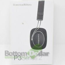 Bowers & Wilkins P3 Series 2 Foldable Mobile Headphones Black W/Protective Case