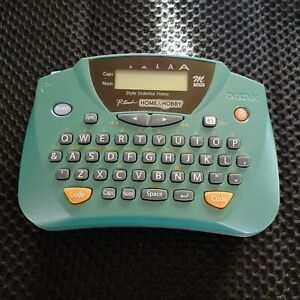 Brother P-Touch Home and Hobby Green Label Maker Portable Handheld Printer PT-65