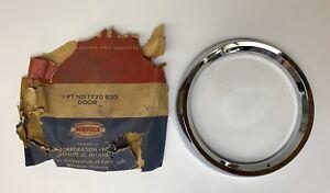 1957 DeSoto Firesweep Passenger Side Headlight Door NOS 1770930