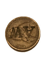 1858 flying eagle cent small letters counter Stamped Sweet