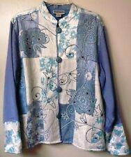 Womens Sportsgirl Cotton Blend Multicolor Jacket Size: XL Excellent condition