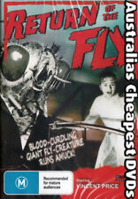 Return Of The Fly DVD NEW, FREE POSTAGE WITHIN AUSTRALIA REGION ALL