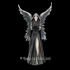 *HARBINGER* Gothic Fantasy Angel Art Hand Painted Resin Figurine By Anne Stokes