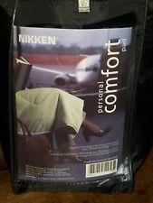 "NIKKEN Personal Comfort Pad Magnetic 49"" x 57"" Blanket w/Travel Bag #1419"
