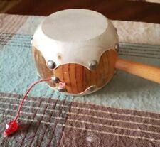 Hand Drum Spinning Drum or Monkey Drum Hand Drum, wood binA3