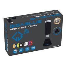 GigaBlue USB WiFi 1200Mbit Dual Band 2,4 / 5GHz Wlan Stick 2 dBi