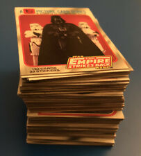 Star Wars Empire Strikes Back Trading Cards Series 1 Complete Set 132 + Wrapper