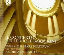 Ensemble Mare Nostru - Barberini Consort of Viols [New CD] Digip