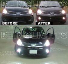 Xenon Niebla Lámparas Conducción Luces Kit Para 2007-2011 Nissan Versa