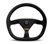 """MOMO Steering Wheel Mod 88 Black Suede 320mm + Free MOMO Suede Brush """"US Dealer"""""""