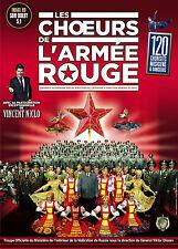 LES CHOEURS DE L ARMEE ROUGE - DVD - Spectacle Intégrale