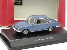 Starline 1/43 - Alfa Romeo 1750 1968 Bleue métal