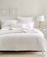 Charter Club Damask 210 Tc Quilted 3 Piece Full Queen Coverlet Set White $170