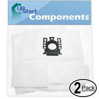 4 Vacuum Bags with 4 Micro Filters for Miele S2121 Capri