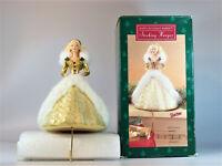 Hallmark 1995 Happy Holidays Barbie Christmas Stocking Hanger Holder #XSH3119-DB