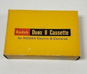 NOS Vintage Kodak Duex 8 Casette Film for Electric 8mm Camera #D360, Factory Box