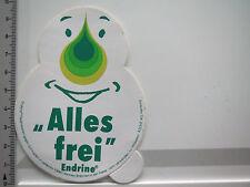 Aufkleber Sticker Endrine - Asche AG - Alles frei (5015)