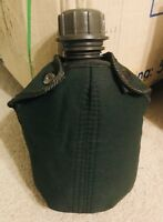 Vietnam War M1956 Repro Canvas Canteen Cover w/ Alice Clips OD Green Cover ONLY