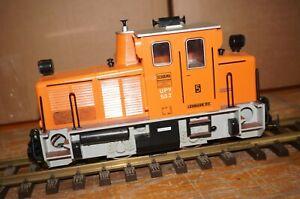 """RF15] G Scale LGB 20600 Diesel Locomotive Schoema No. 5 """" Lehmann-öl """" Digital"""