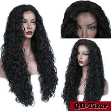 """Heat Resistant Long Loose Curly Lace Front Wigs Synthetic Women's Full Wig 26"""""""