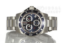 Men's Stainless Steel Longines Hydro Conquest Chronograph Watch L3.743.4