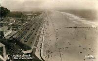1940s Amusement Ocean Boulevard San Francisco California RPPC Zan 6245 Aerrial