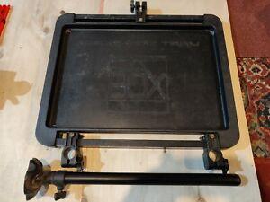 Preston Off Box Mega Side Tray With Support Leg Attachment Fishing