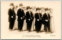 MIDGETS MINIATURE MINUET JOHN LESTER'S ANTIQUE REAL PHOTO POSTCARD RPPC