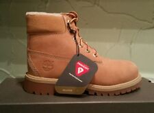 NEW TIMBERLAND YOUTH'S  PREMIUM WATERPROOF BOOTS WITH FAUX SHEARLING SIZE 12.5