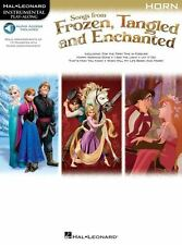 Songs From Frozen, Tangled And Enchanted: Horn (Book/Online Audio)