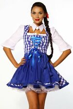 súper Sexy dulce Mini Vestido dirndl Set : Vestido del dirndl con delantal