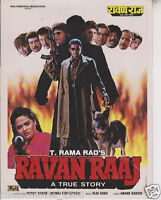RAVAN RAAJ ORIGINAL  MOVIE PRESS BOOK  BOLLYWOOD MITHUN CHAKRABORTY (TRUE STORY