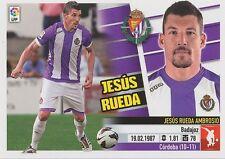 N°05 JESUS RUEDA AMBROSIO # ESPANA VALLADOLID.CF STICKER PANINI ESTE LIGA 2014
