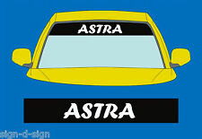 ASTRA SUNSTRIP DECALS GRAPHICS STICKER choose any 2 colours from list
