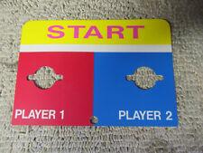 """POINT BLANK OR GENERIC START  STICKER 7 1/2- 5 1/4""""  arcade video game art  CFNZ"""