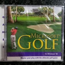 NEW SEALED Microsoft Golf EDITION PC Softeare GAME WINDOWS