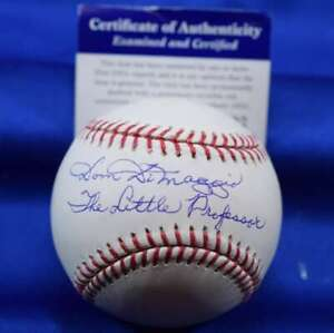 Dom DiMaggio Little Professor PSA DNA autograph Major League Signed Baseball