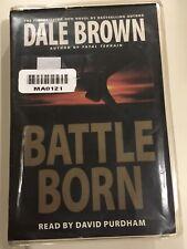 DALE BROWN  BATTLE BORN on  audio cassette