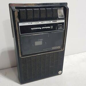 National Panasonic RQ-312DS Vintage 1970's Portable Cassette Recorder - FAULTY
