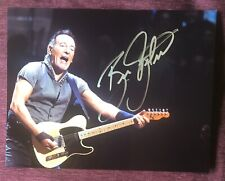 Bruce Springsteen. **Signed**photo With C.O.A.