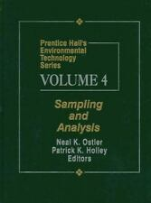 Prentice Hall's Environmental Technology Series Volume IV: Sampling an-ExLibrary