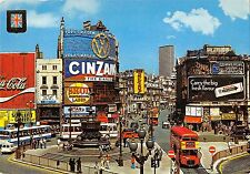 BR53788 Piccadily circus and statue of eros London   UK England