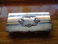 Vintage Wallace 'Baroque' Silver Plated Cigarette Box