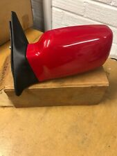 Mk4 Escort Door Mirror New Genuine Ford Passenger Rosso Red 86-90