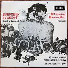 Boudewijn De Groot Vinyl 7'' Het Land Van Maas En Waal / Decca – BU 70 023