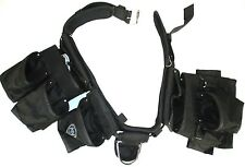 "McGuire-Nicholas 5 Piece 13 Pocket Toolbelt Rig Tool Belt Fits Up 50"" Waist"