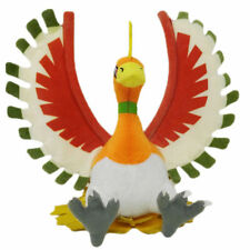 Pokemon Ho-Oh Plush Doll Figure Soft Toy Stuffed 10 inch Xmas Gift For Kids